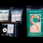 flamingo 03 small panel peyote bead pattern pdf or kit diy bird maddiethekat designs 2