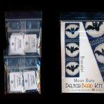moon bats wide cuff bracelet delica seed bead 2 drop peyote pattern or kit diy maddiethekat designs 2