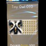Owl 10 Tiny Mini Amulet Bag Peyote Seed Bead Pattern or KIT DIY Bird-Maddiethekat Designs