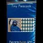 Peacock Tiny Mini Amulet Bag Peyote Seed Bead Pattern PDF or KIT DIY bird-Maddiethekat Designs