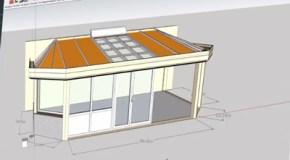 Conception de votre futur véranda à l'aide d'un logiciel 3D
