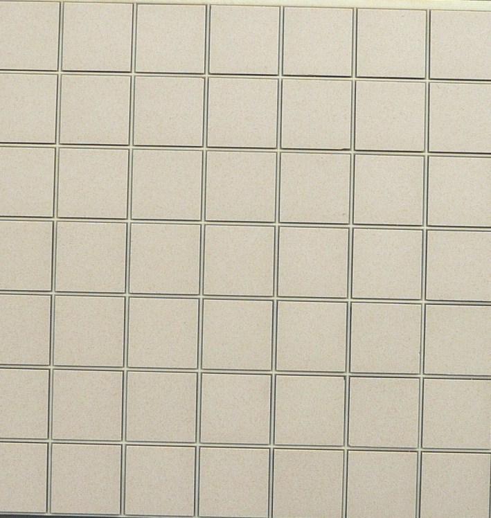 blanc sable jaune 5 par 5 cm mosaique gres antique paray au m