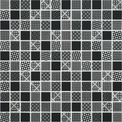 Mosaique Pate De Verre Noir Carreau De Ciment 100g Achat De Mosaique Salle De Bain