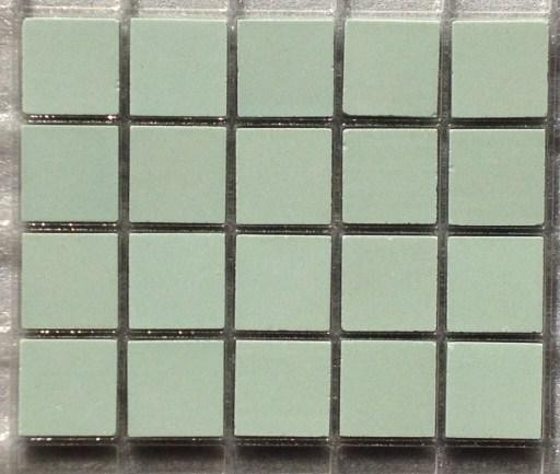 vert pastel celadon amande 2 par 2 cm mosaique mat gres antique paray par 100g