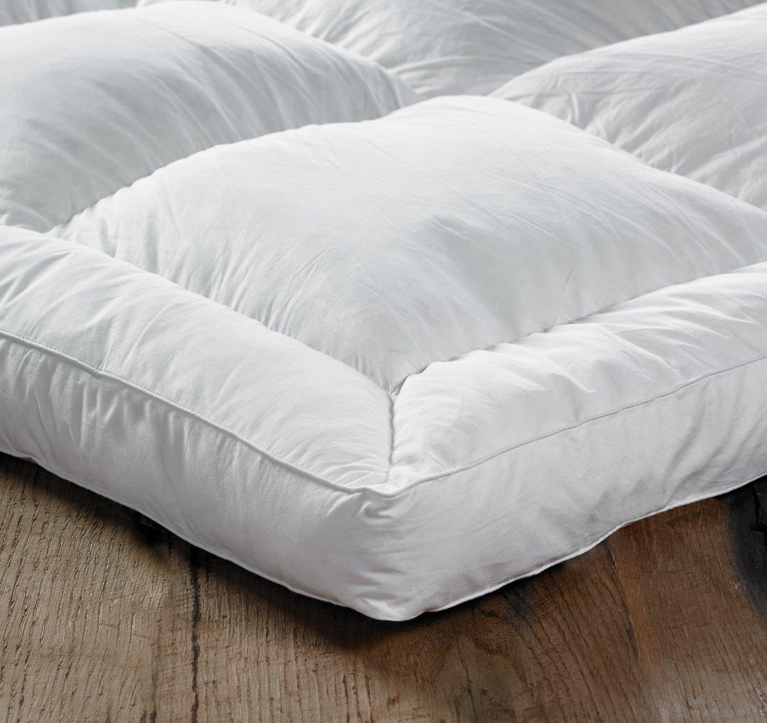 Euroquilt Goose Feather Amp Down King Size Bed Mattress