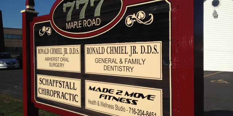 Made 2 Move Fitness - 777 Maple Rd, Williamsville, NY 14221 - Adult Health & Fitness Studio - Street Sign