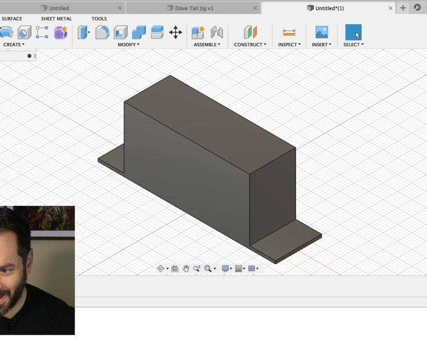 AP designing in Fusion 360