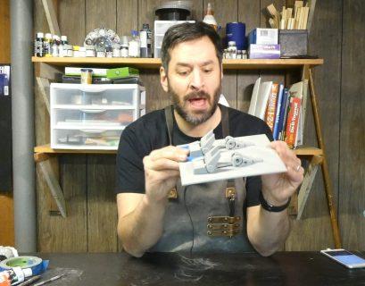 AP Examining a 3D Printed Part