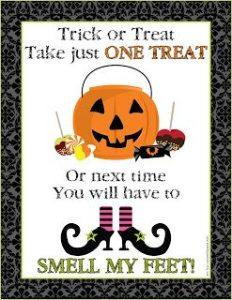 Freebie Friday: Halloween Printables
