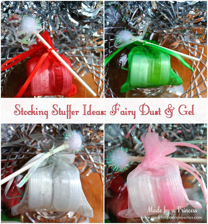 stocking stuffer ideas fairy dust and gel