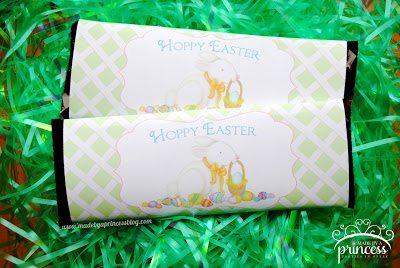 FREE Hoppy Easter Hershey Bar Wrapper