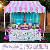How to Make a PVC Pipe Canopy