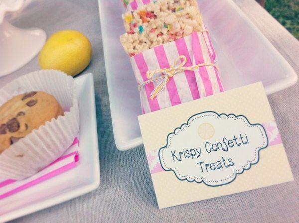 Krispy Confetti Treats