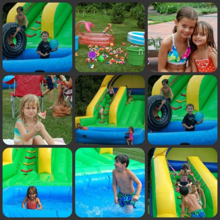 summer fun slide
