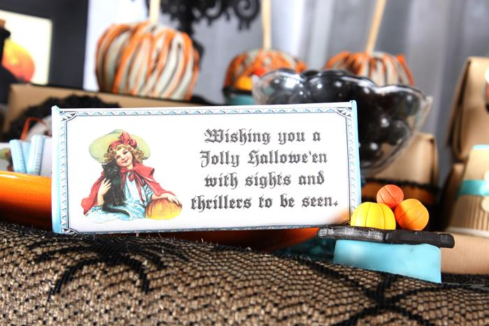 all hallows eve tea party