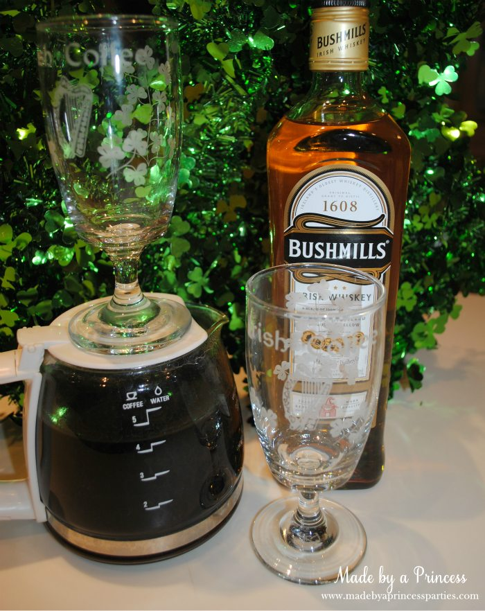 best irish coffee with fresh whipped cream good liquor