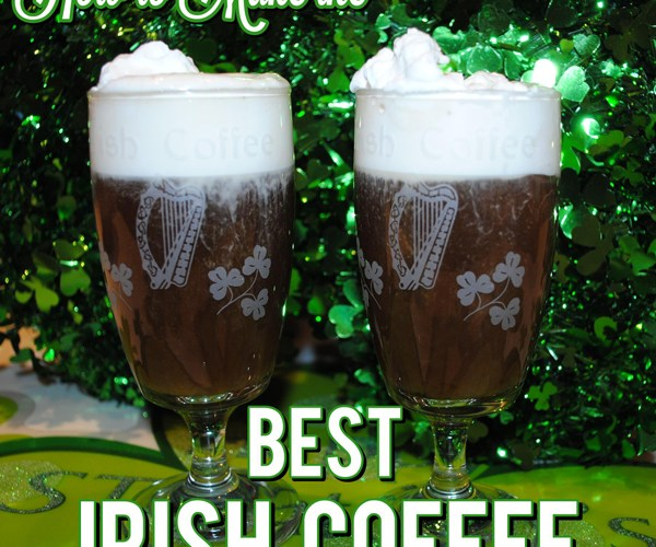 Recipe for the Best Irish Coffee Made with Fresh Whipped Cream