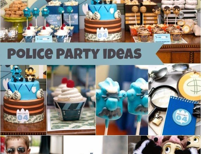 Police Party Ideas