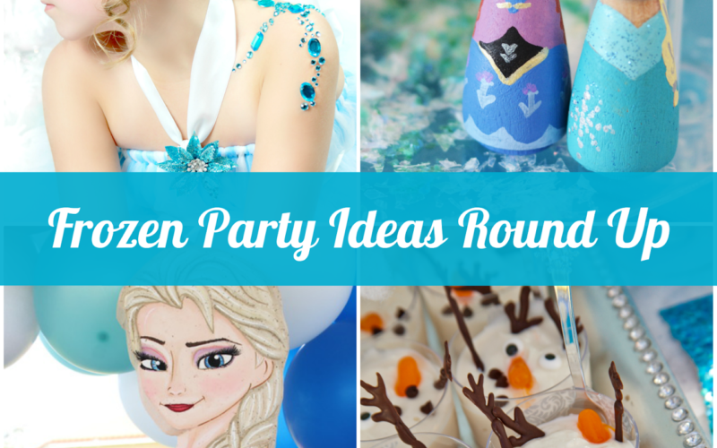 Frozen Party Ideas Round Up