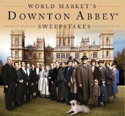 World Market & Downton Abbey Sweepstakes
