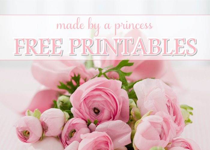 blog image for pages ranunculus printables