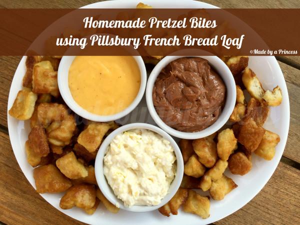 homemade pretzel bites