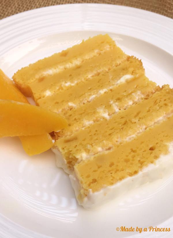 mango coconut cake slice 2