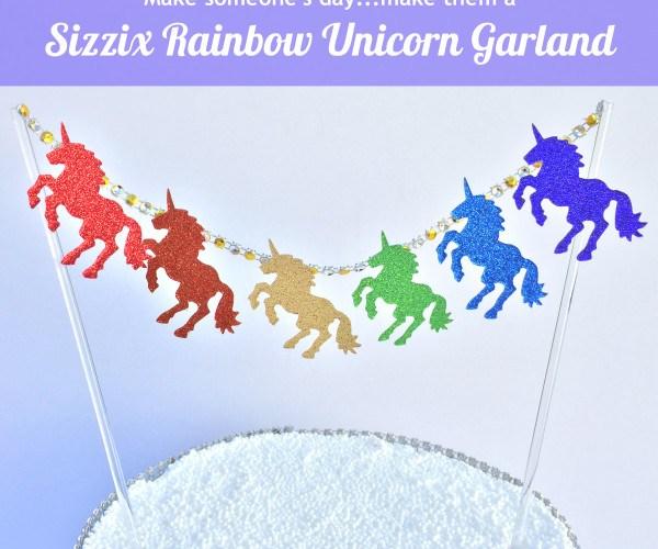 Rainbow Unicorn Garland