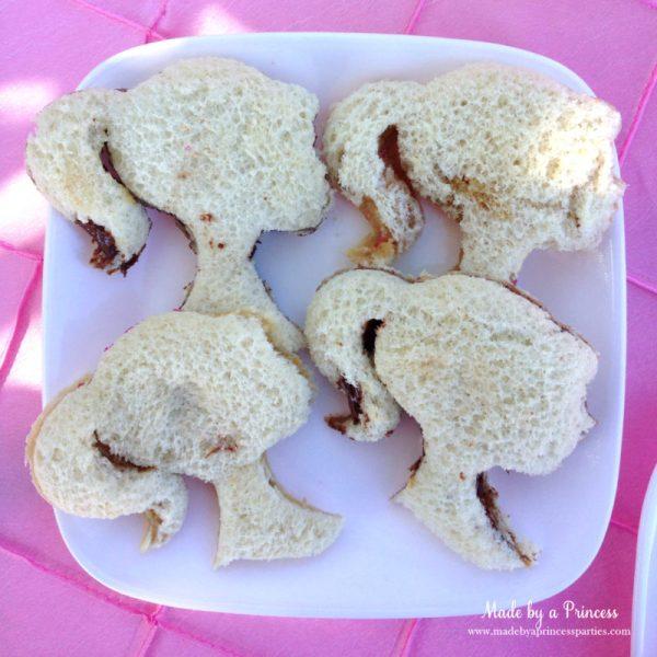barbie tea party barbie sandwiches