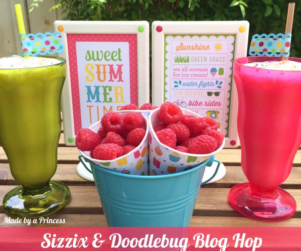 Sweet Summertime Treats with Sizzix and Doodlebug