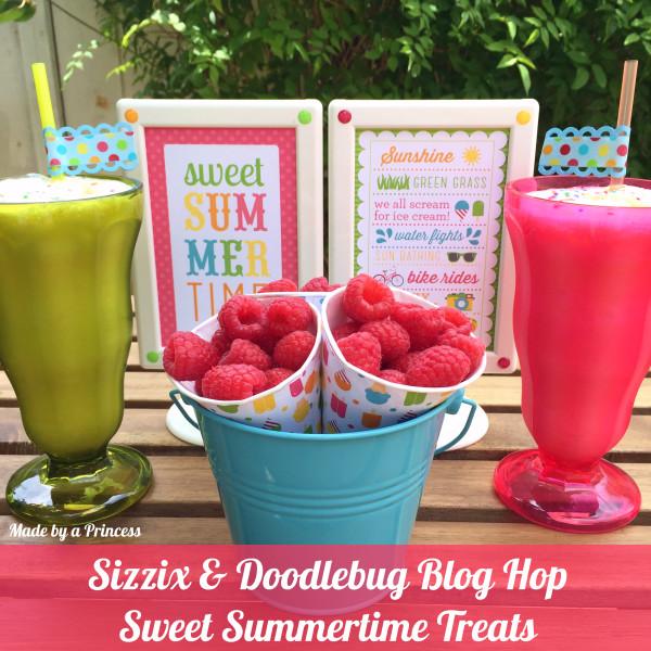 sizzix doodlebug blog hop main