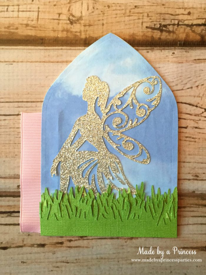 how to make a fairy door inside panel with fairy