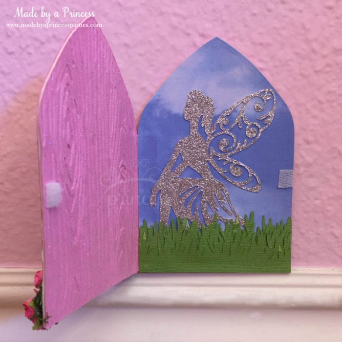 how to make a fairy door inside