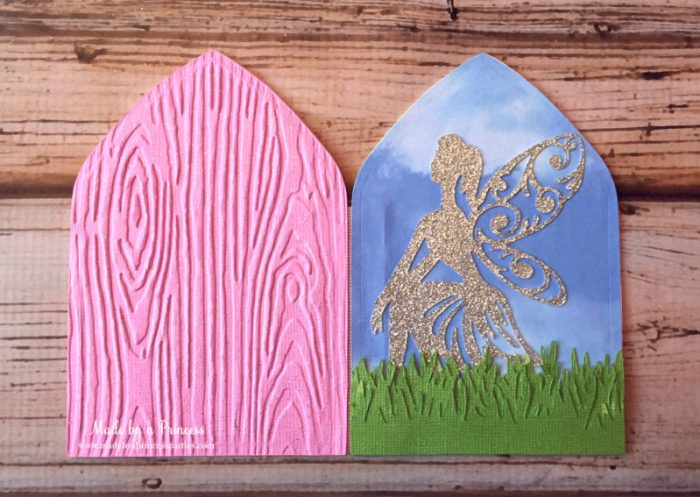 how to make a fairy door panels together