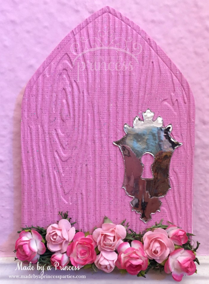how to make a fairy door pink door