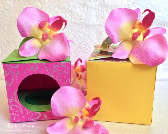 sizzix cupcake box two