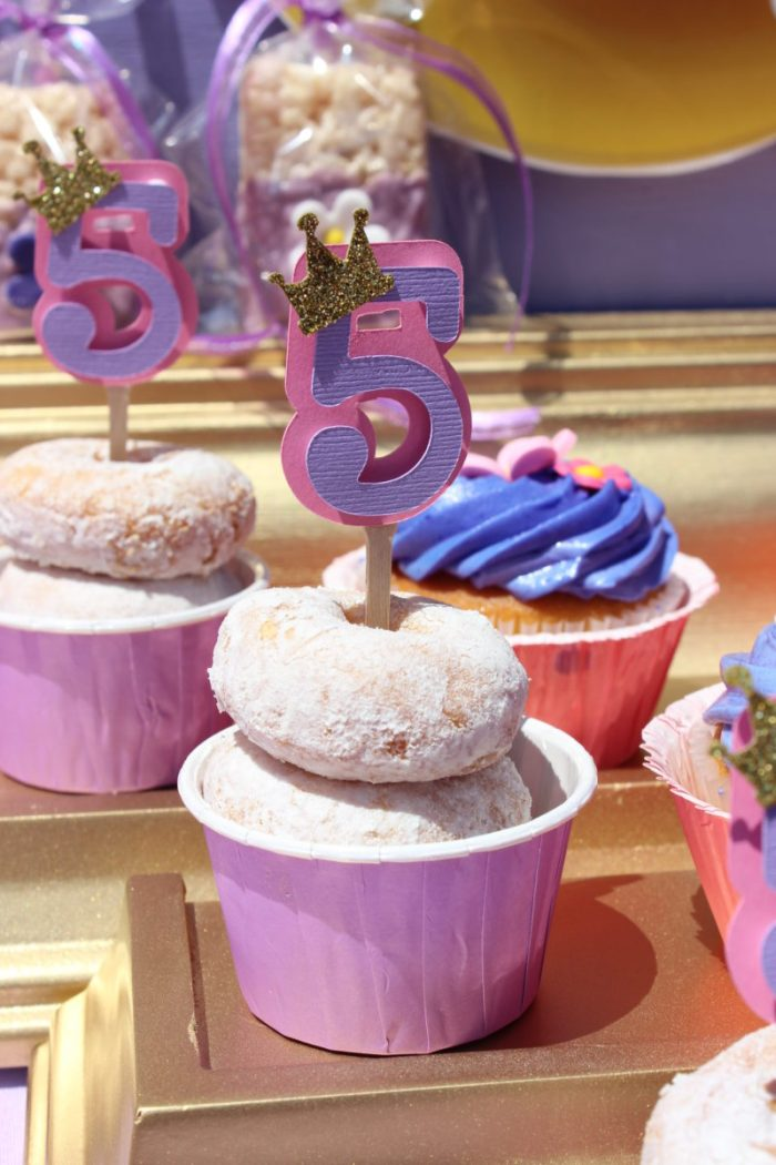 best day ever rapunzel party by tabletop donuts