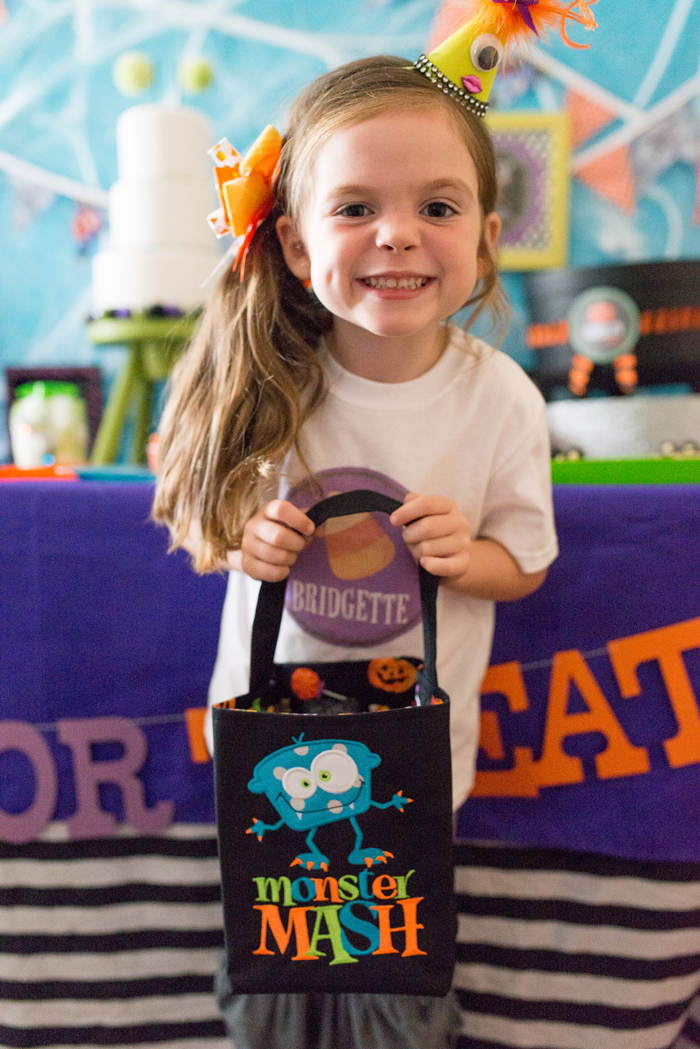 Monster Mash Party ideas treat bags