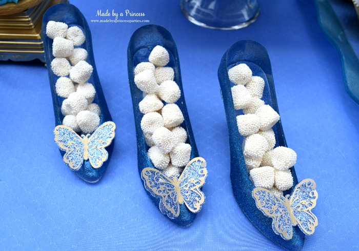 Princess Cinderella Party Will Leave You Enchanted shoe favors