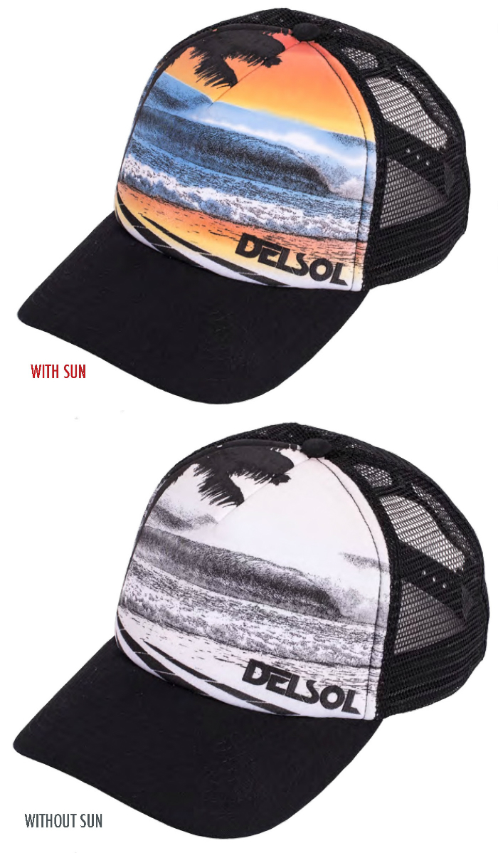 del sol color changing hat