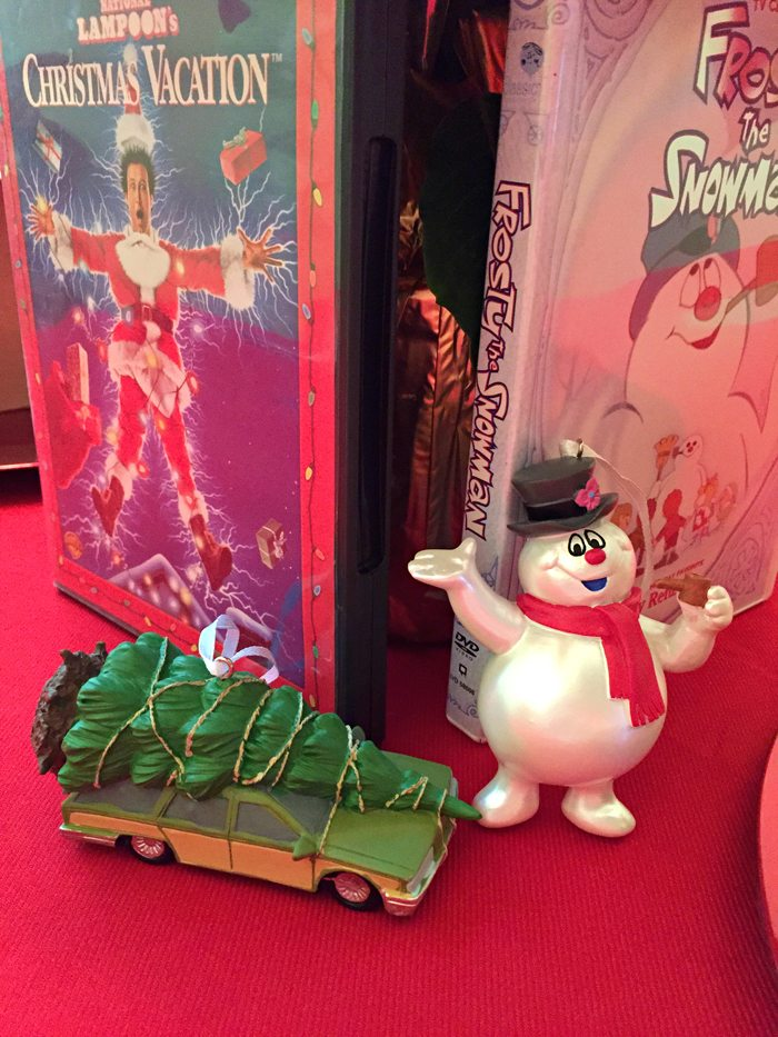 hallmark in walmart frosty and christmas vacation ornaments
