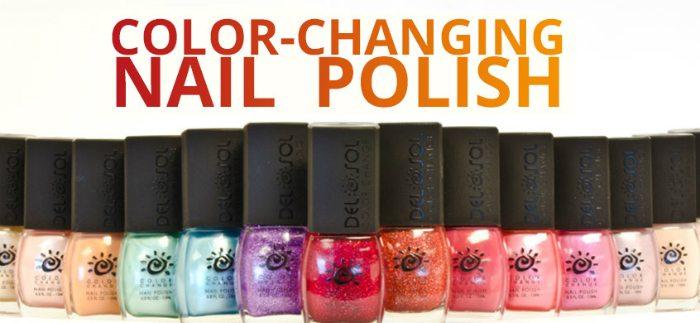 del sol color changing nail-polish