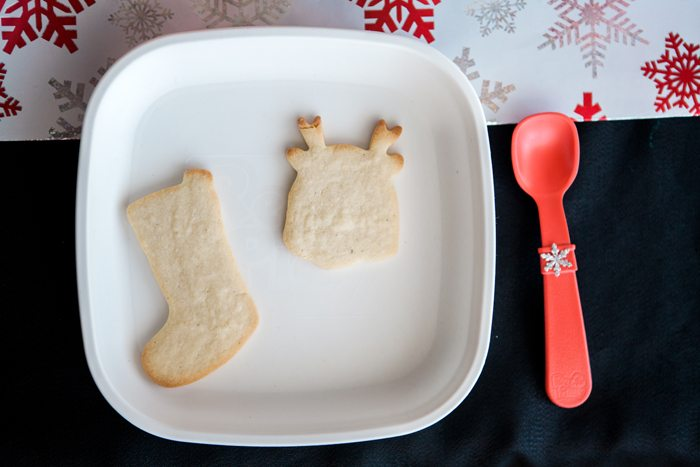candy cane lane christmas party cookie decorating plate