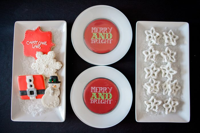 candy cane lane christmas party cookies