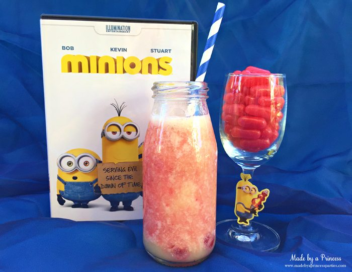 minions movie night lava mocktail party drink