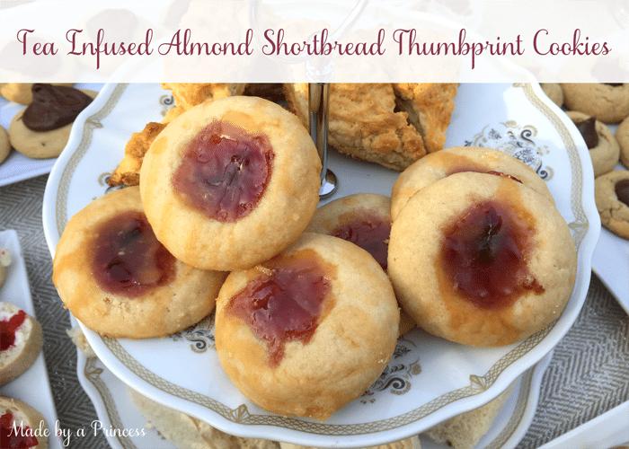 tea infused almond shortbread thumbprint cookies 700