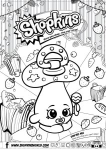 Shopkins Coloring Pages Season 2 Dum Mee Mee