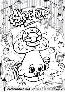 Shopkins Coloring Pages Season 2 Dum Mee Mee