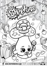 Shopkins Coloring Pages Season 2 Dum Mee