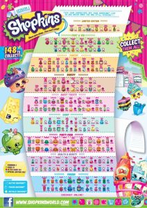 Shopkins Season 1 Collectors Guide Checklist